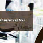 Guide de nettoyage d'un bureau en verre